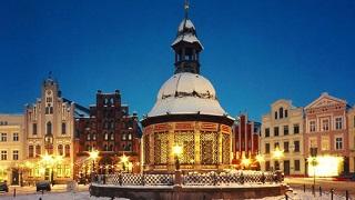Julmarknad Wismar/Schwerin 3 dagar