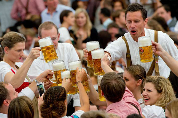 Oktoberfest Tyskland