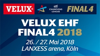 Final Four handboll i Köln Maj 2018